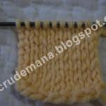 cum se tricoteaza modelul jerse?
