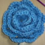 Trandafir crosetat – varianta 2