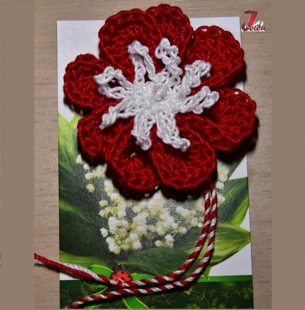 Floare crosetata martisor 3 1280-1300