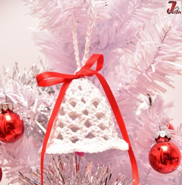 Ornamente Craciun - clopotel crosetat....