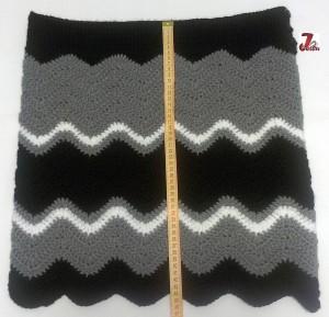 fusta crosetata model zig-zag 1