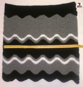 fusta crosetata model zig-zag 2